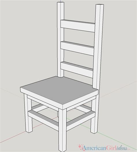 kitchen chair ideas how to make american girl kitchen chair american girl