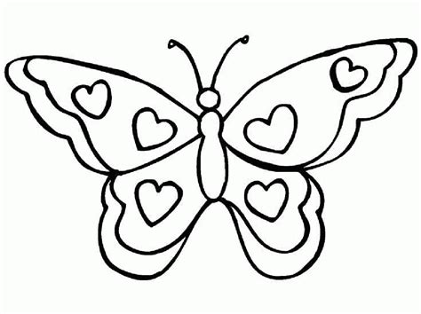 Coloring Pages Of Hearts And Butterflies | coloring printable butterfly with flowers gianfreda net