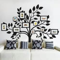 wall picture stickers family photos tree wall sticker by sirface graphics