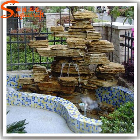 china guangzhou supplier artificial home decoration rock