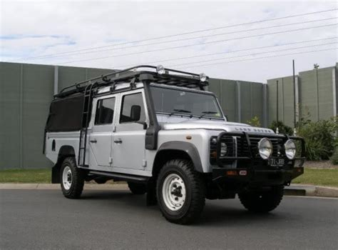 land rover safari roof land rover defender 130 hannibal safari roof racks