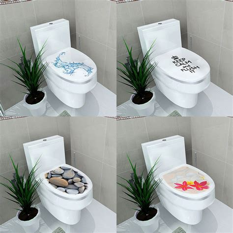 Badezimmer Dekoration Basteln by Toilet Seats Wall Stickers Bathroom Decoration Decal Vinyl