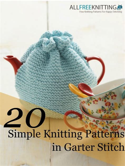 what is garter stitch in knitting terms 20 simple knitting patterns in garter stitch 5 new