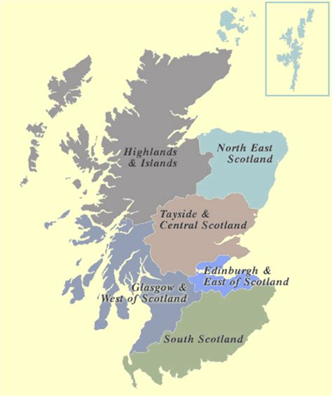 Records In Scotland Scotland On Radio Map