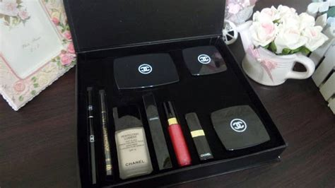 Harga Make Up Chanel 1 Paket chanel set box lengkap chanel cosmetics