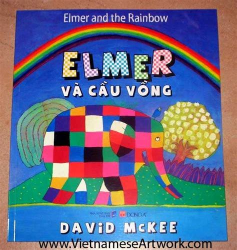 elmer and the rainbow view detail