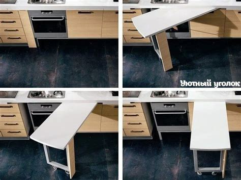 hidden kitchen table hidden kitchen work table house pinterest tables