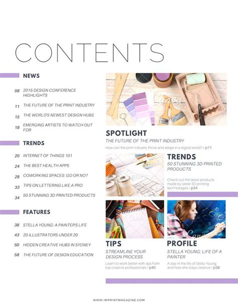 content layout pinterest 9 best pretty magazine layout design images on pinterest