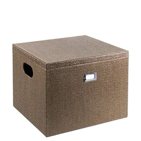 decorative file boxes g u s decorative office file and portable storage box for