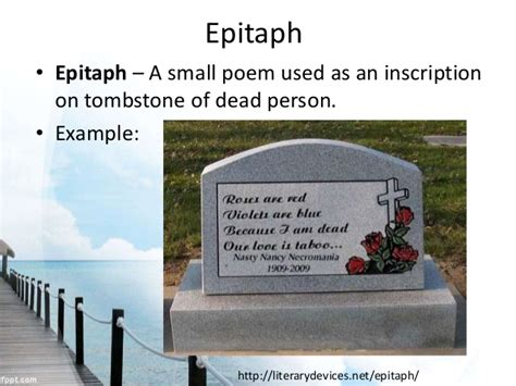 epitaph of a small definition elements types and genres of poetry