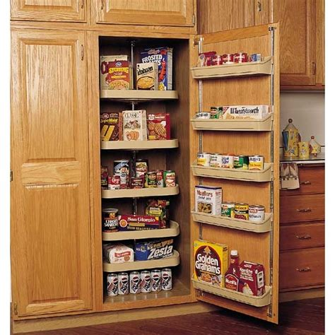Pantry Set by Revolving Pantry Shelf Sets