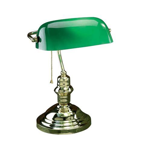 desk l glass shade shop lite source 14 5 in adjustable brass bankers desk