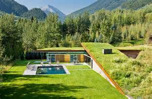 sustainable home sustainable home with 2 landscaped roofs conceals private terrace modern house designs