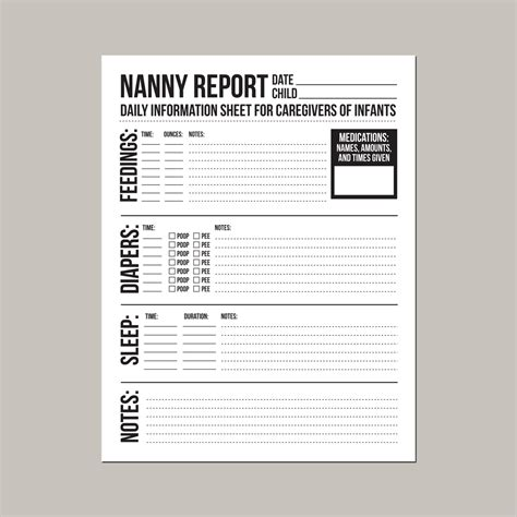 Search Results For Behavior Notes Template Calendar 2015 Daily Caregiver Notes Template