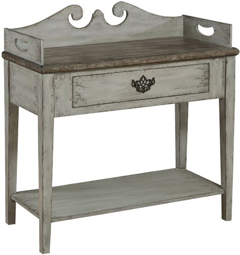 grey accent table sophia weathered grey accent table from pulaski coleman