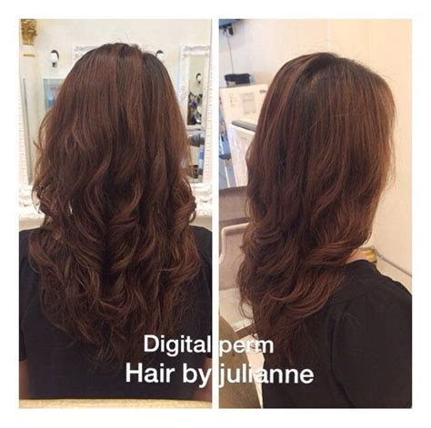 digital perm before and after 21 best digital perm shoulder length hair images on