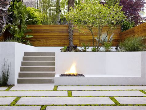 24 Concrete Retaining Wall Ideas For Attractive Garden Wall Garden Designs