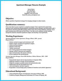 assistant manager description resume writing a great assistant property manager resume