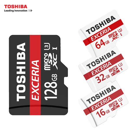 Cortex Micro Sd 64gb Max Pro U 3 Up To 95 Mb S Adapter toshiba memory card 128gb 64gb 32gb uhs 3 max read speed 90m s 16gb micro sd card class10 uhs 1