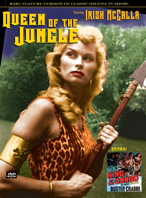 hindi film jungle queen queen of the jungle sheena feature irish mccalla dvd