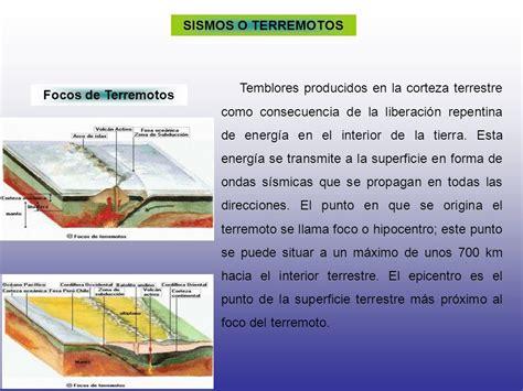 los terremotos como se origina sismos o terremotos ppt descargar