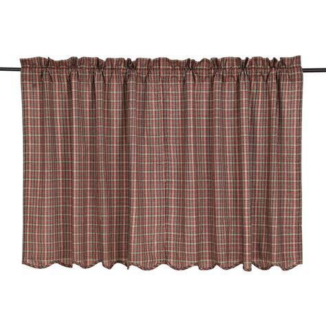 36 x 36 curtains canavar ridge scalloped curtain tiers 36 quot x 36 quot victorian