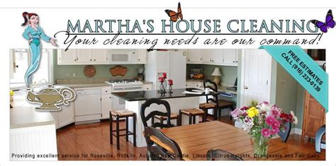 Marthas House Cleaning Services Lincoln Ca 95648 916 289 6669