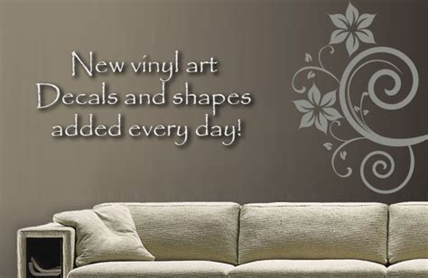 custom wall stickers words renew your room with custom vinyl wall decals in decors
