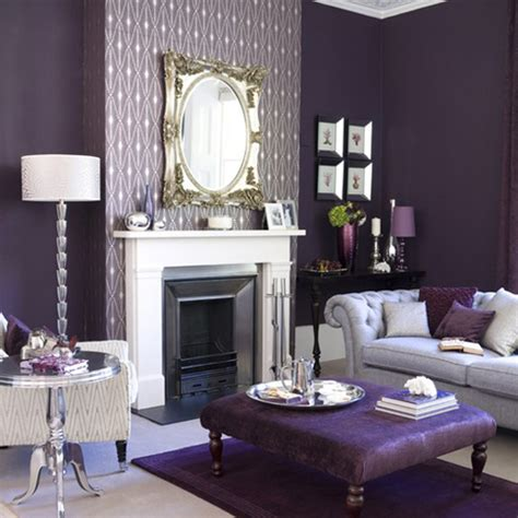 purple and silver room new home design ideas theme design 11 living room