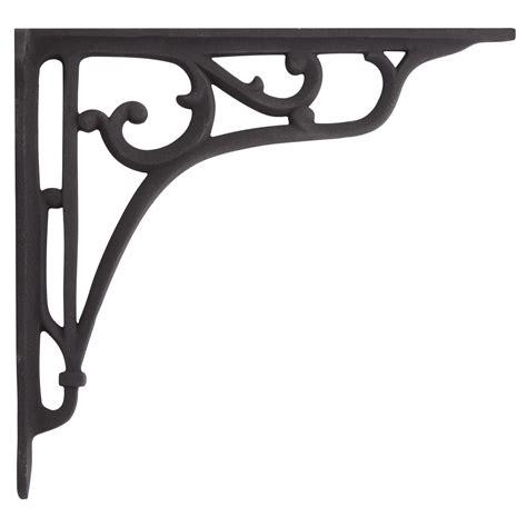 decorative shelving brackets whorl cast iron shelf bracket hardware