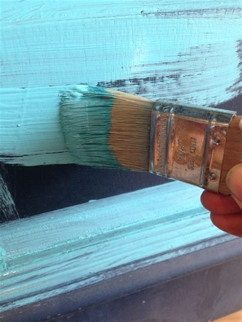 autentico chalk paint bright turquoise chalk milk paint tips techniques helpful how to s