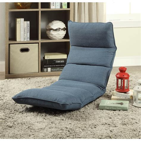Gaming Floor Chair by Acme Furniture Morris Gaming Floor Chair In Teal 59601 The Home Depot
