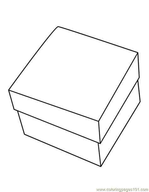 toy boxes coloring pages