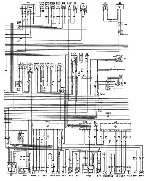 security system 1993 mercedes benz 500e interior lighting mercedes benz 300ce 1992 1993 wiring diagrams exterior lighting carknowledge