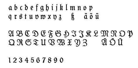 lettere gotiche da stare l 233 criture fraktur schwabacher et gotik