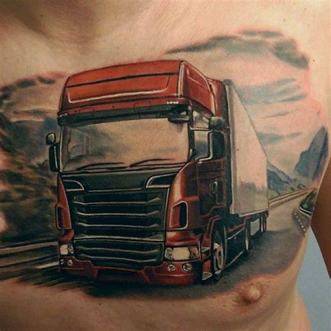 truck tattoos 365 best images about on on back ink and back