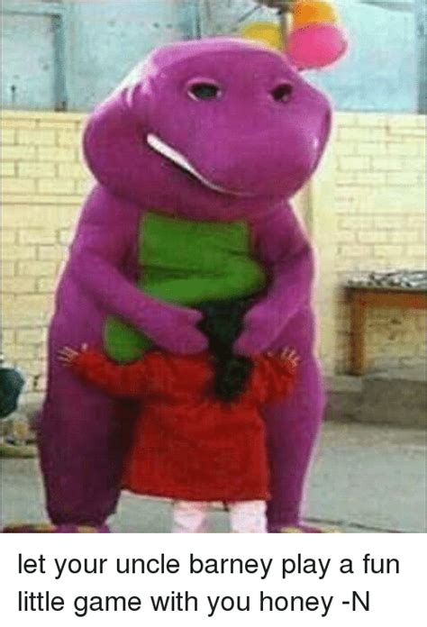 Barney Meme - let your uncle barney play a fun little game with you