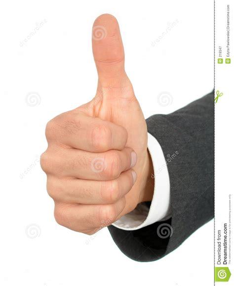 imagenes de dedo pulgar ok mano del hombre de negocios con el pulgar para arriba
