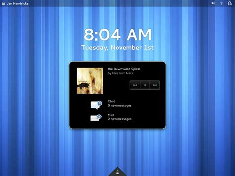gnome lock screen themes gnome s new lock screen design goes online omg ubuntu