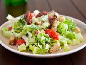 Salad by Eclectic Recipes 187 Simple Caesar Salad