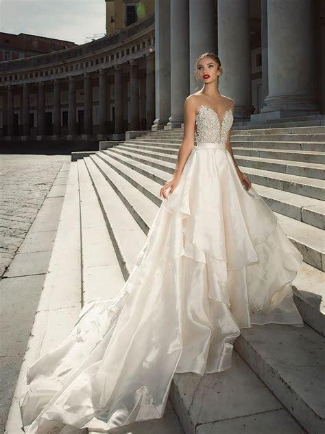 Julie Vino Fall 2017 Collection: Bridal Fashion Week Photos