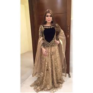 Pakistani party wedding wear dresses 2017 for women fashionglint