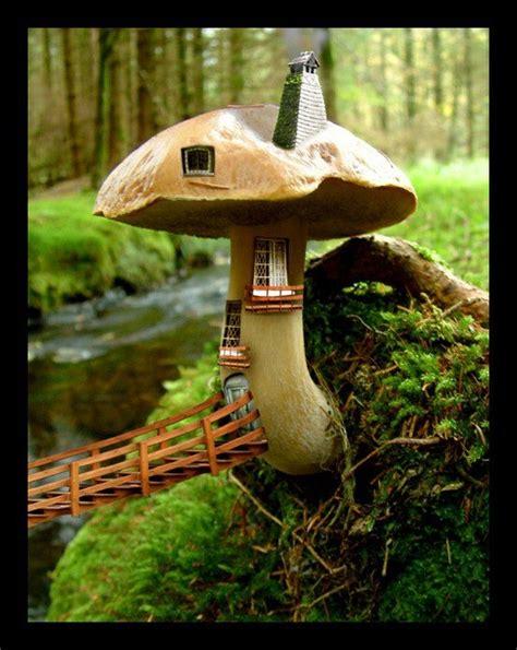 mushroom fairy house mushroom fairy house