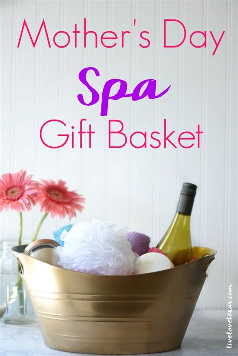 unique practical gifts for mother s day simple recipes mother s day spa gift basket tutorial dove soap and spa