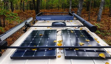 solar panels  rv  camper van buyer guide