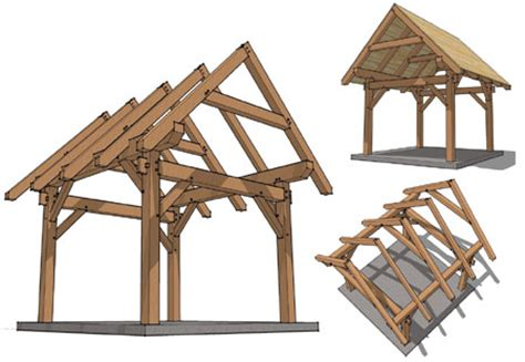 Pergola Plans With Pitched Roof Timber Frame Hq Decks How To Build A Pitched Roof Pergola