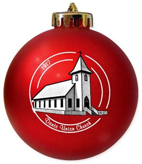 christmas ornament fundraiser for ministry