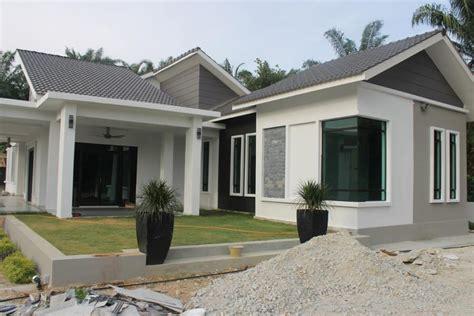design rumah kampung terkini  desain rumah