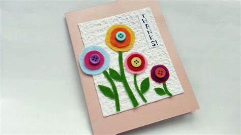 crafty cards to make how to create a thank you card diy crafts tutorial