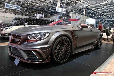 mansory cars for geneva 2017 mansory s63 convertible gtspirit